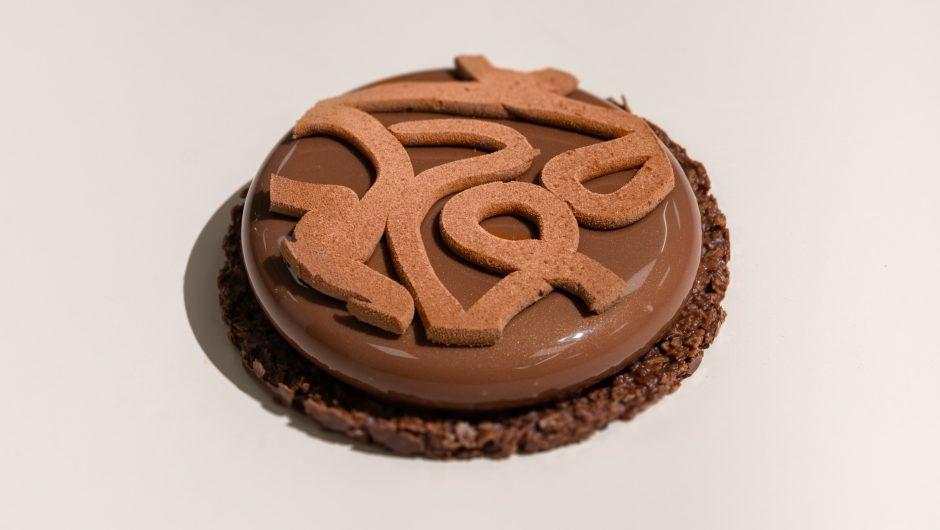 עוגת מוס שוקולד קראנץ