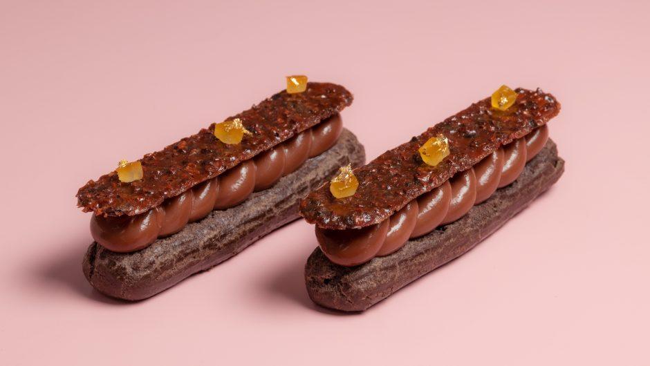 אקלר שוקולד