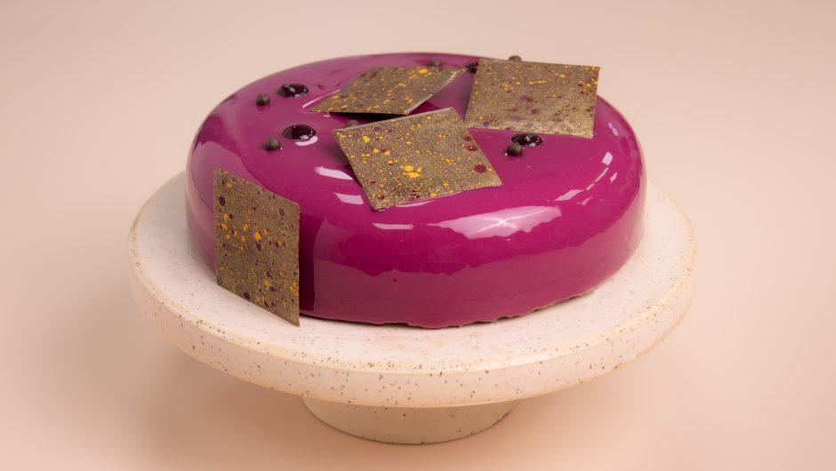 עוגת  קסיס ומוס שוקולד