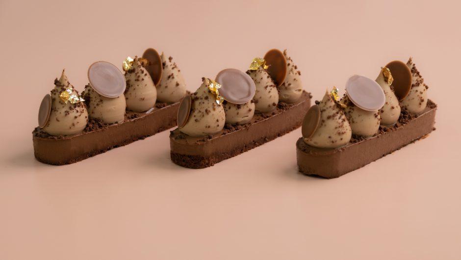 קינוח אישי שוקולד פרלינה